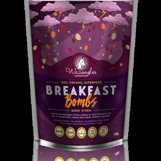 Wazoogles Superfood Breakfast Bombs - Berry Storm