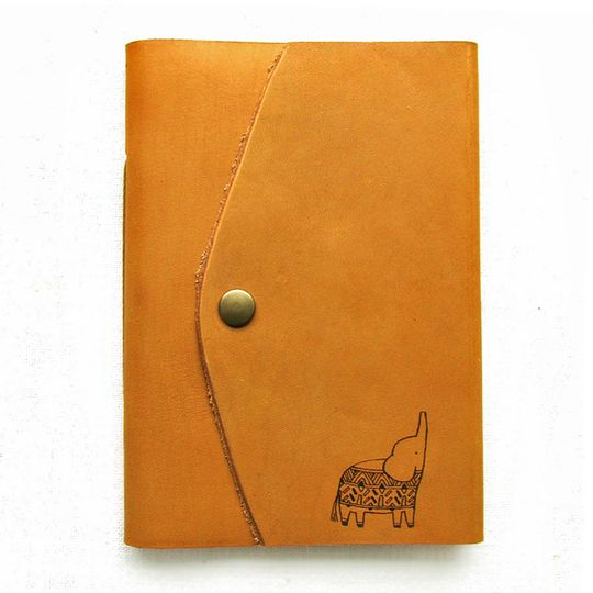 Travel Journal (A6 size) - Elephant