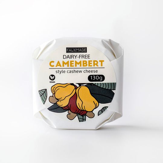 Fauxmage, Camembert Style Cashew Cheese, 125g