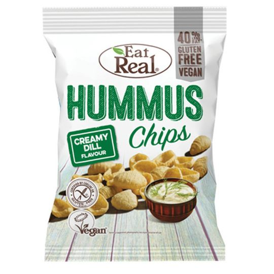 Eat Real Hummus Creamy Dill 45g