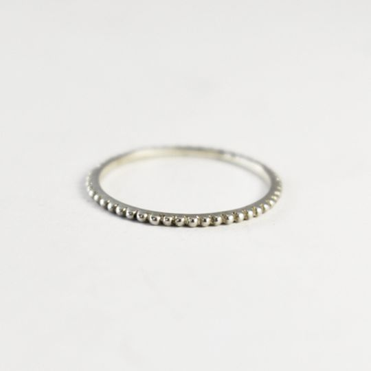 Fine Bobble Urchie Stacking Ring