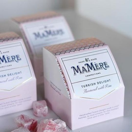 Ma Mère Rose Turkish Delight (225g)