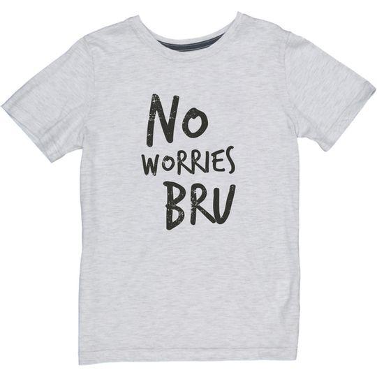 'No Worries Bru' Kids Tee