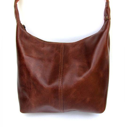 Handbag Large - Red-Brown