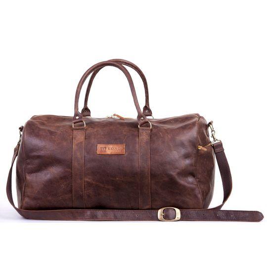 The Phiri Leather Travel Bag