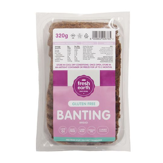 Fresh Earth Banting Bread