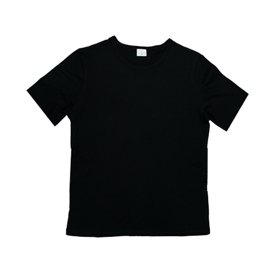 Mens Short Sleeve Black