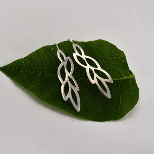 Leafy Branch Earrings