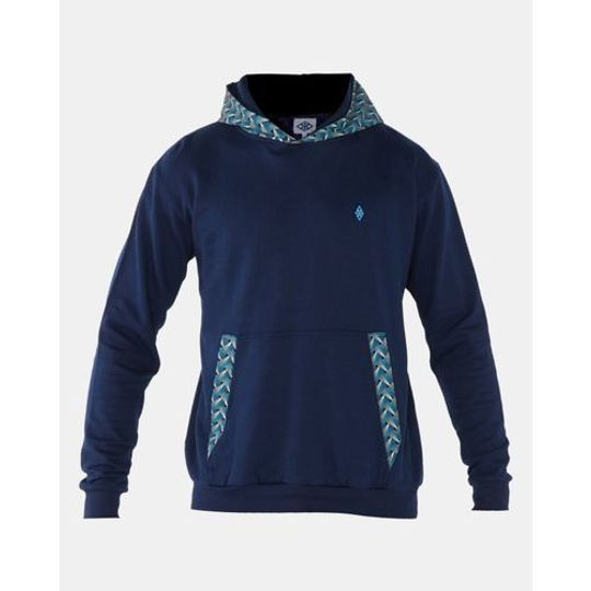 Ocean Hooded Weave - Navy