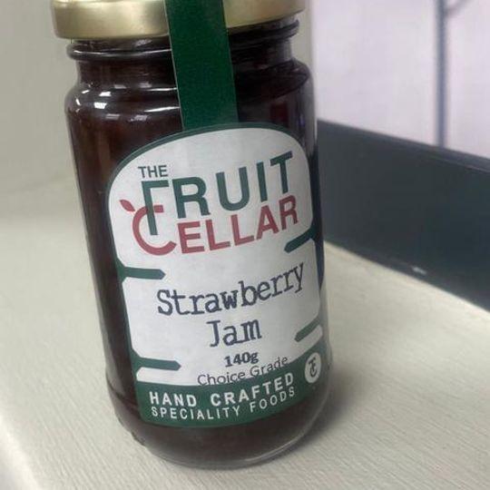 140g Tierhoek Strawberry Jam