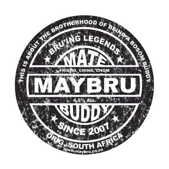 'Beer Label' Sticker