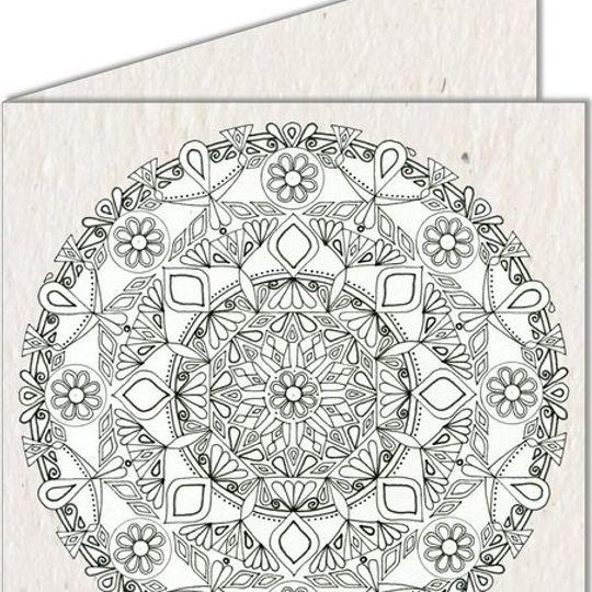 Greeting Card | Mandala