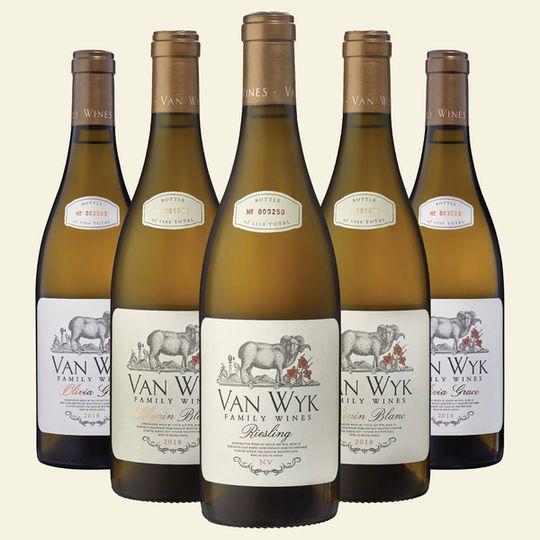 Mixed Case of White wine (6 x 750ml)