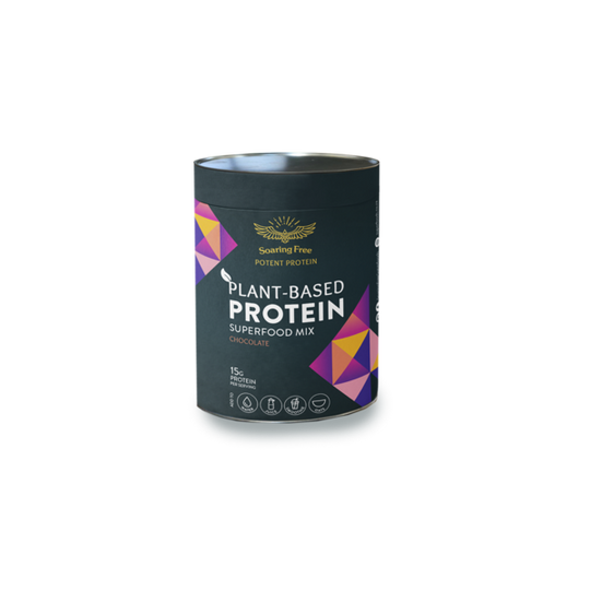 SOARING FREE SUPERFOODS Chocolate Plant-Based Protein Superfood Mix