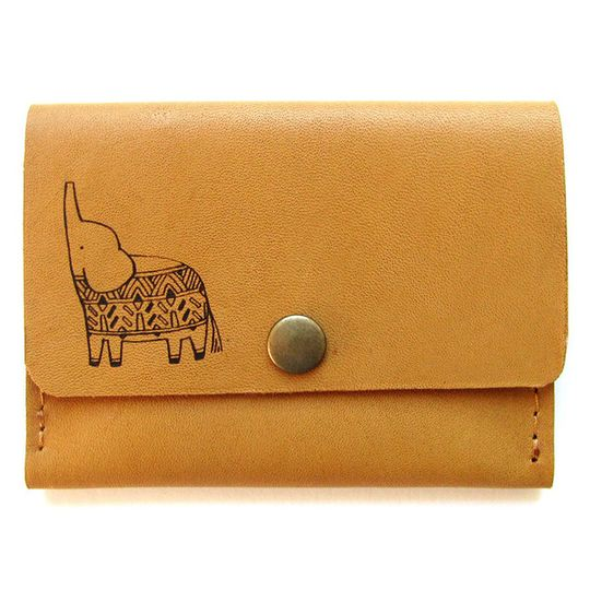 Card Holder - Little Elephant