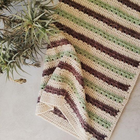 The Stripey Blanket (Avo/Chesnut)