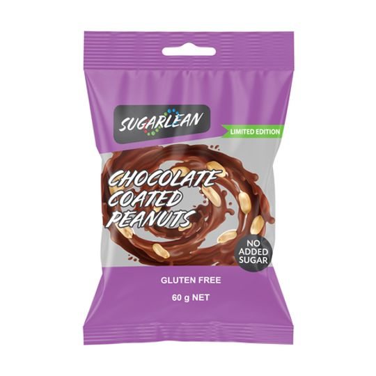 Sugarlean Chocolate Coated Peanuts (60 g)