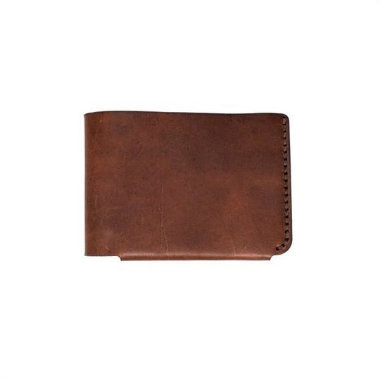 The Bifold Wallet - Amber