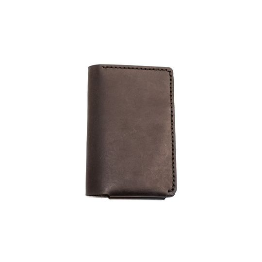 The Vertical Wallet - Black