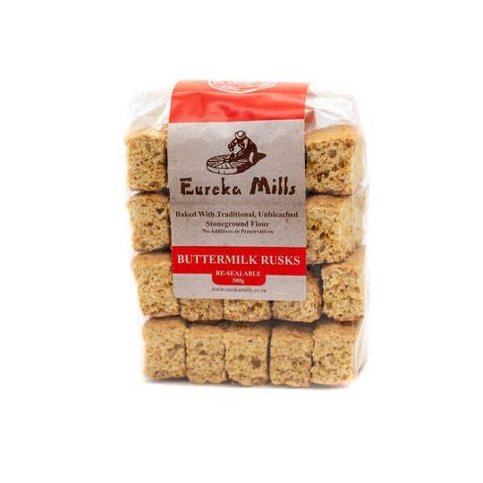 Eureka Mills Stoneground Buttermilk Rusks (500g)