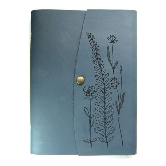 Journal (A5 size) - Pressed Flowers