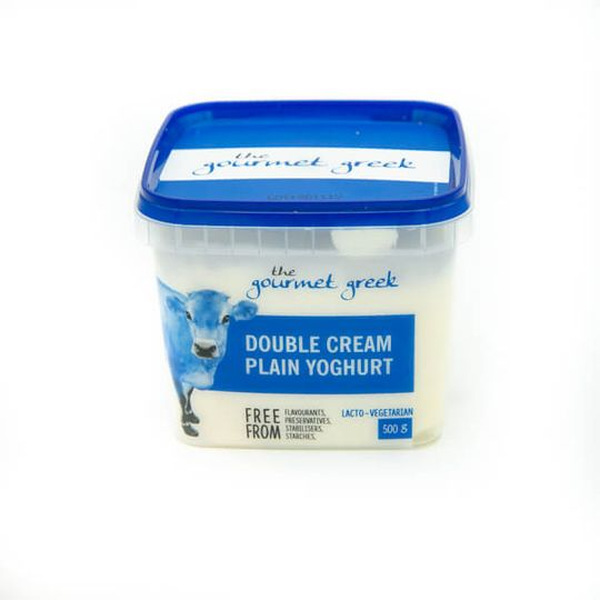 Double Cream Plain Yogurt (500g)