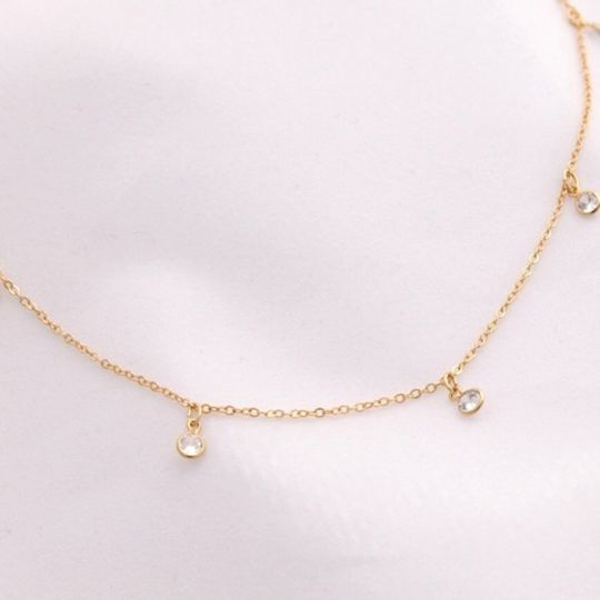 The Crystal Drop Necklace