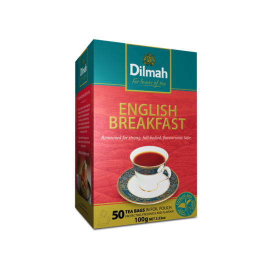 Dilmah English Breakfast (50 x 2g tagless tea bags)