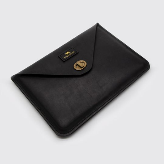 Leather Macbook Cover - Highland