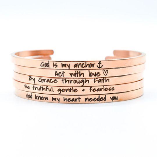 Rosegold Stainless Steel Bracelets