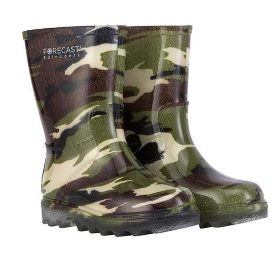 Kiddies Camo Rain Boot