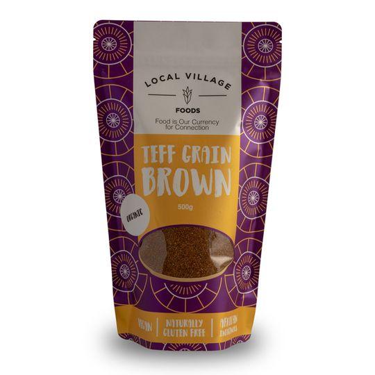 Local Village Foods - Teff Grain Brown 500g