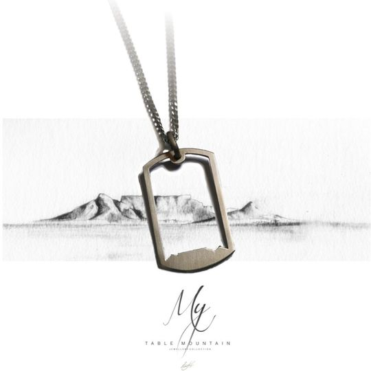 Table Mountain Stainless steel Dog tags