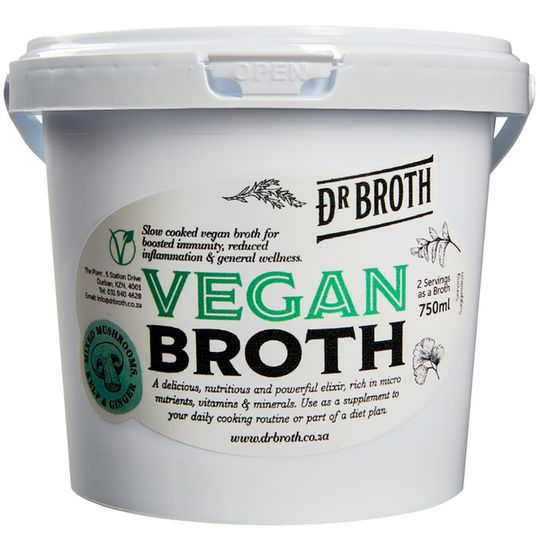 Dr Broth Mushroom, Kelp & Ginger Broth (750ml)