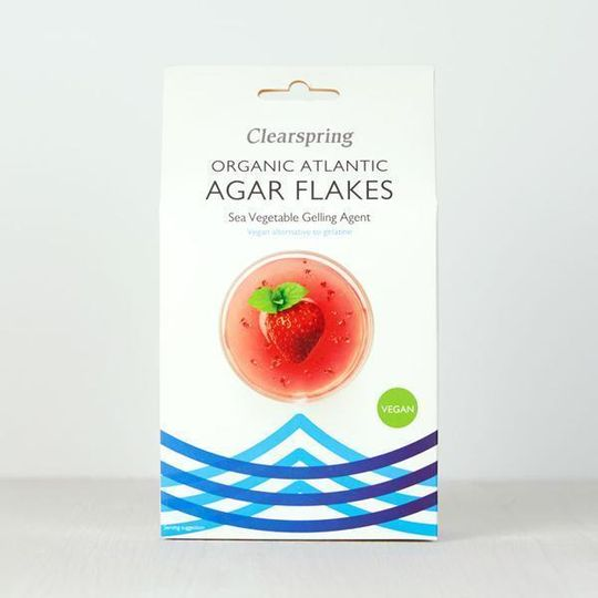 Clearspring Japanese Agar Flakes Gelling Agent