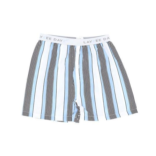 Boys Short Pants (Boxers Shorts) Unisex Blue Stripes