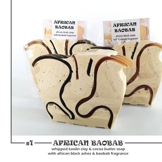 WHIPPED COCOA BUTTER SOAP
