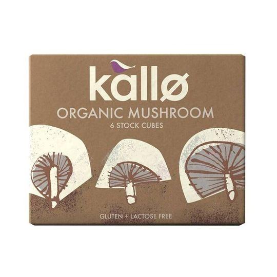 Kallo Organic Mushroom Stock Cubes (66g)