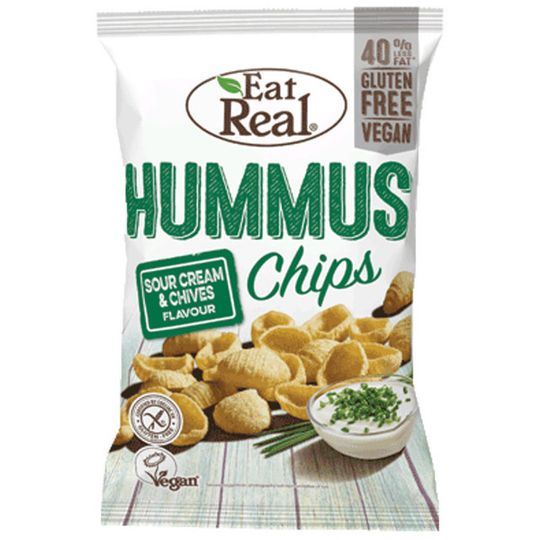 Eat Real Hummus Sour Cream & Chives 45g