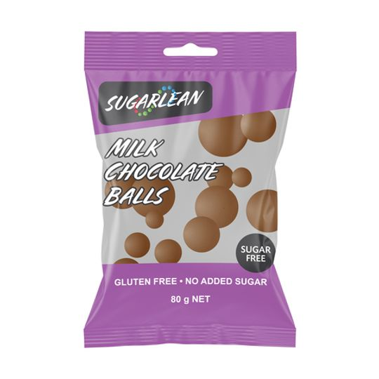 Sugarlean Milk Chocolate Balls (70 g)