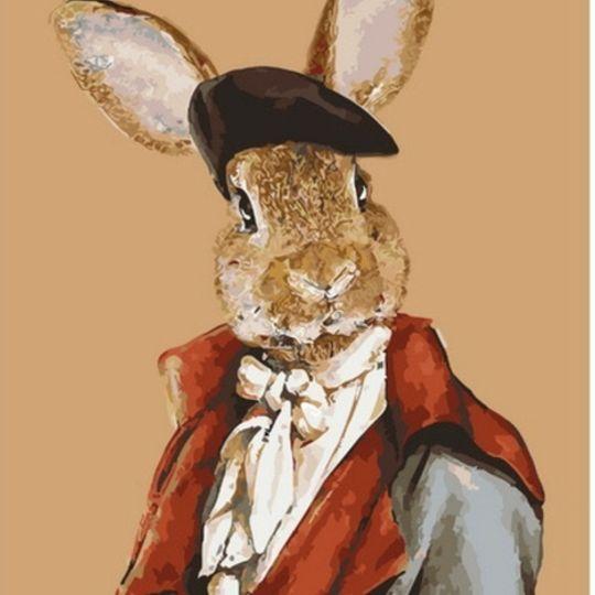 Rabbit in a Suit