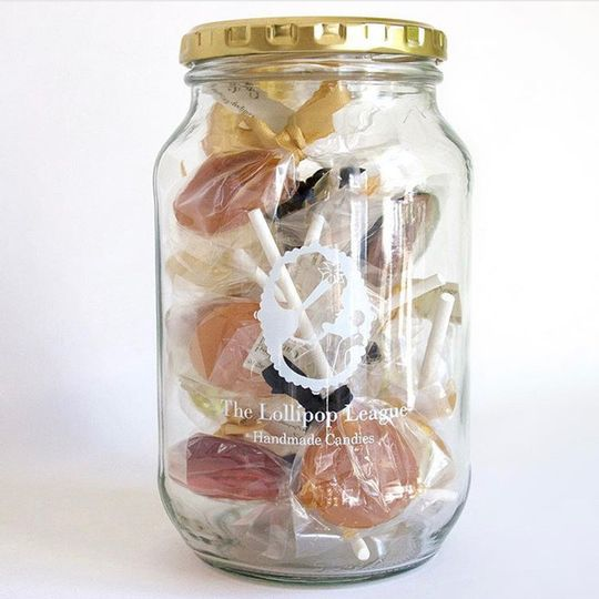 Custom Large Speciality Lollipop Gift Jar