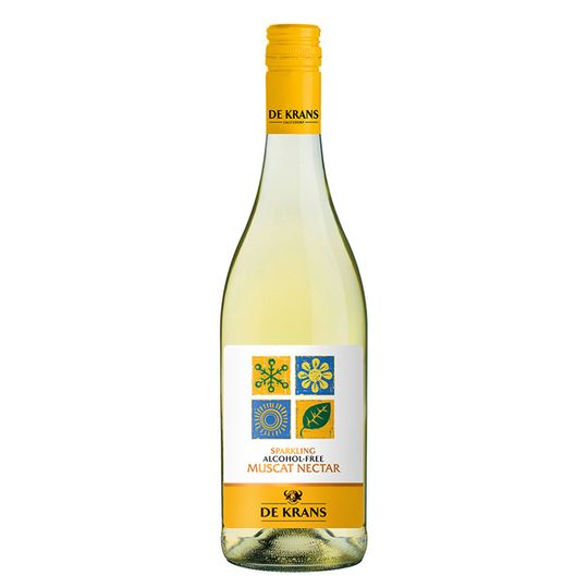 De Krans Muscat Nectar Alcohol Free Sparkling (750ml)