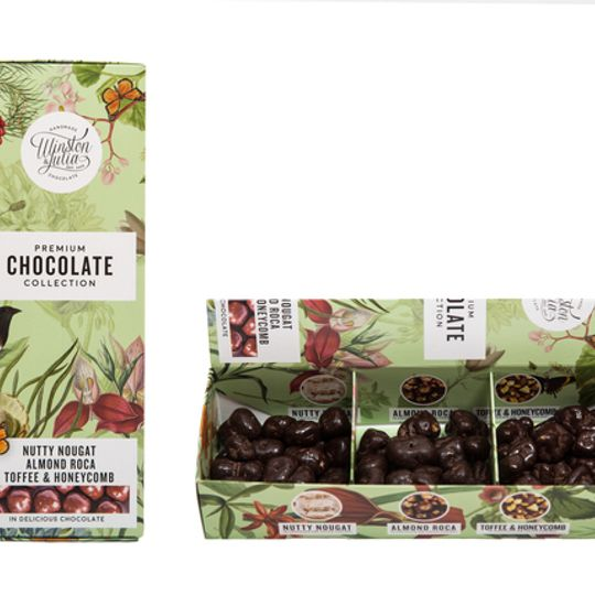 3 Chocolate Tumbled Gift pack