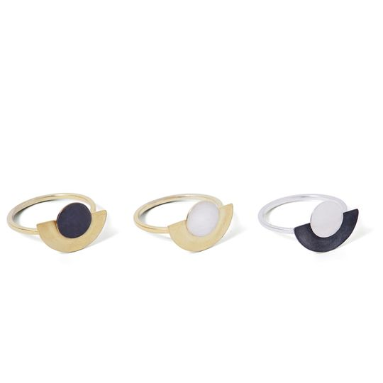 Disc & dot rings