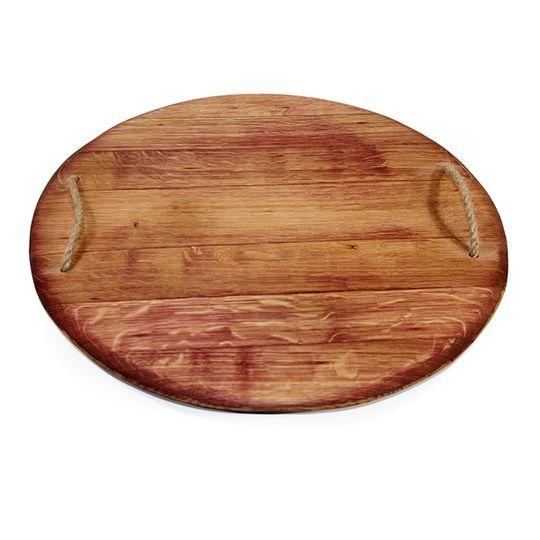 Round Oak Red