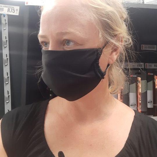 Black Face Mask - 3 for R90
