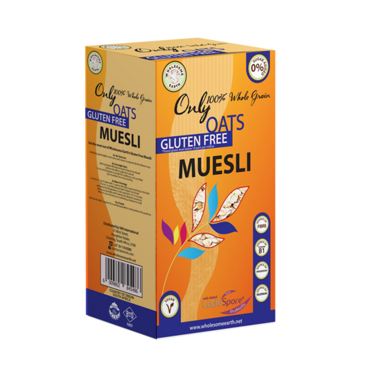 Wholesome Earth Gluten Free Muesli
