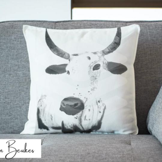Black and White Nguni | Original Cushion