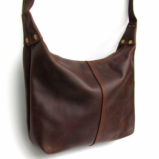 Handbag Medium - Dark Brown